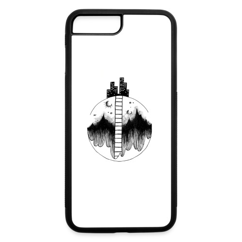 Moon City - iPhone 7 Plus/8 Plus Rubber Case