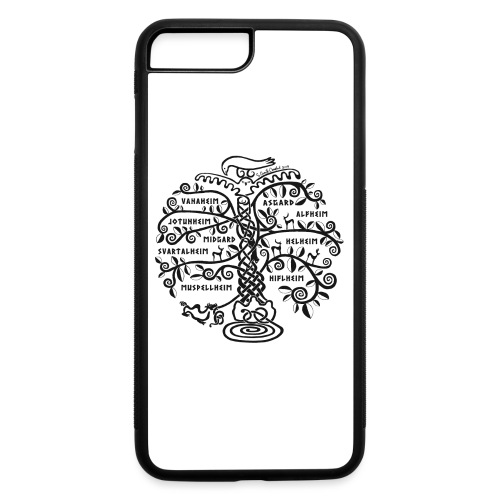 Yggdrasil - The World Tree - iPhone 7 Plus/8 Plus Rubber Case
