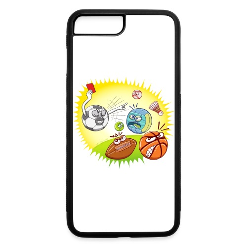 Soccer showing red card to other sports - iPhone 7 Plus/8 Plus Rubber Case
