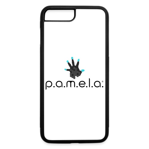 P.A.M.E.L.A. Logo Black - iPhone 7 Plus/8 Plus Rubber Case