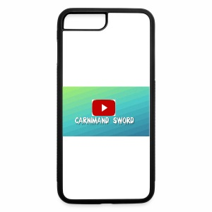 Carnimand Sword with Youtube sign - iPhone 7 Plus/8 Plus Rubber Case