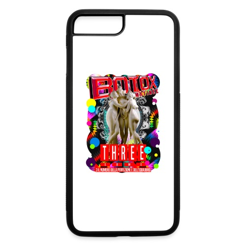 botox matinee threesome t-shirt - iPhone 7 Plus/8 Plus Rubber Case