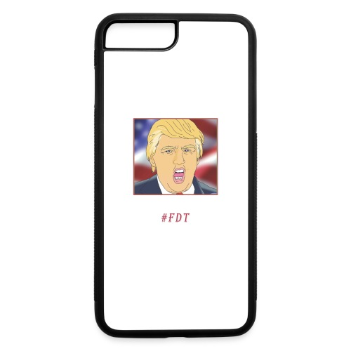 Fuck Donald Trump! - iPhone 7 Plus/8 Plus Rubber Case