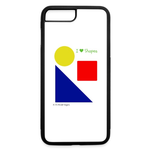 Hi I'm Ronald Seegers Collection-I Love Shapes - iPhone 7 Plus/8 Plus Rubber Case