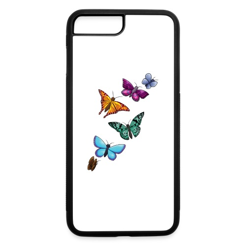 butterfly tattoo designs - iPhone 7 Plus/8 Plus Rubber Case
