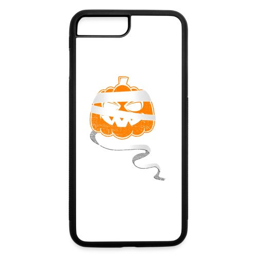 Halloween Bandaged Pumpkin - iPhone 7 Plus/8 Plus Rubber Case