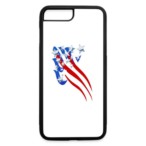 Sweeping Old Glory - iPhone 7 Plus/8 Plus Rubber Case