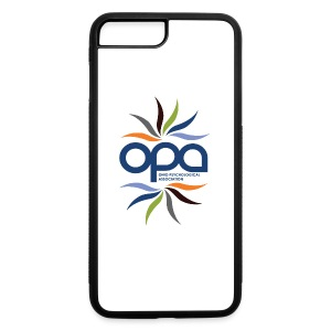 iPhone case with full color OPA logo - iPhone 7 Plus/8 Plus Rubber Case