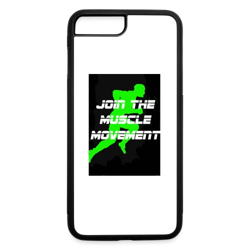 muscle movement - iPhone 7 Plus/8 Plus Rubber Case