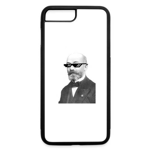 Zamenhof Shades (BW) - iPhone 7 Plus/8 Plus Rubber Case