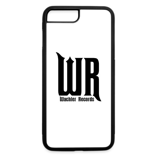 Wachler Records Dark Logo - iPhone 7 Plus/8 Plus Rubber Case