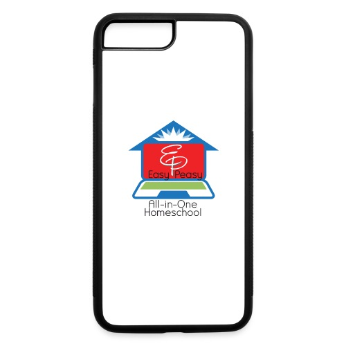 EP Logo with All-In-One Homeschool - iPhone 7 Plus/8 Plus Rubber Case