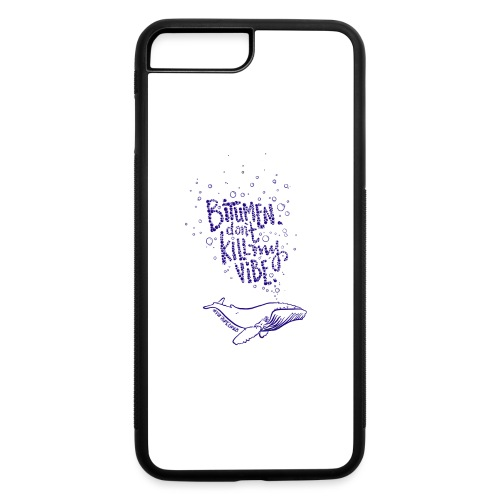 bitumen don't kill my vibe - navy - iPhone 7 Plus/8 Plus Rubber Case