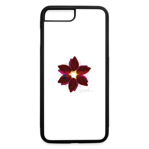 Collage Style Flower - iPhone 7 Plus/8 Plus Rubber Case