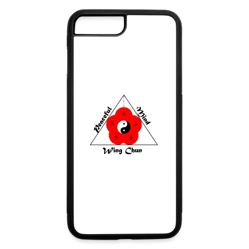 Peaceful Mind Vector - iPhone 7 Plus/8 Plus Rubber Case