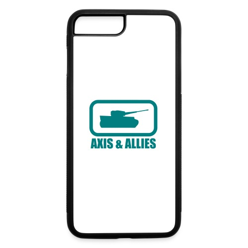 Tank Logo with Axis & Allies text - Multi-color - iPhone 7 Plus/8 Plus Rubber Case