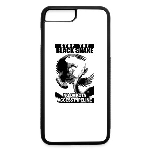 Stop the Black Snake NODAPL - iPhone 7 Plus/8 Plus Rubber Case