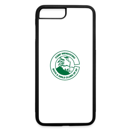 Camp Mendocino Green - iPhone 7 Plus/8 Plus Rubber Case