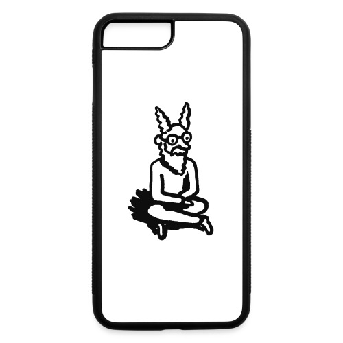 The Zen of Nimbus t-shirt / Black and white design - iPhone 7 Plus/8 Plus Rubber Case