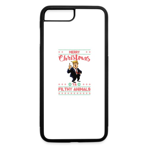 MEERRY CHRISTMAS YA FILTHY ANIMALS - iPhone 7 Plus/8 Plus Rubber Case