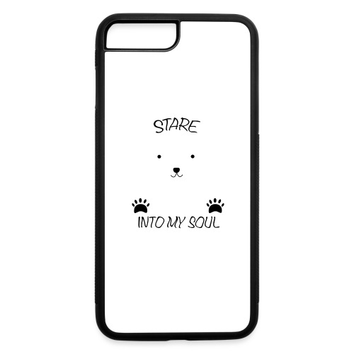 Polar Bear Stare - iPhone 7 Plus/8 Plus Rubber Case