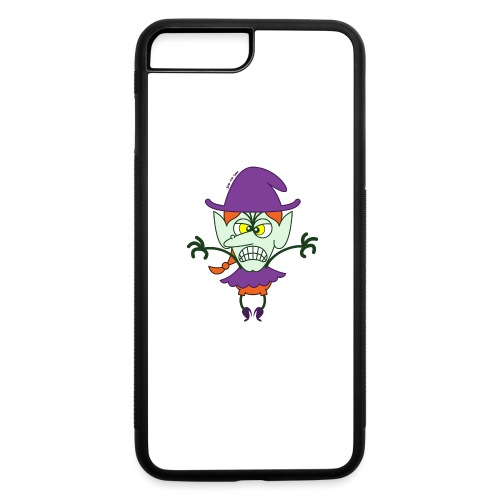 Scary Halloween Witch - iPhone 7 Plus/8 Plus Rubber Case