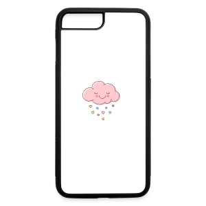 Raining Hearts - iPhone 7 Plus Rubber Case