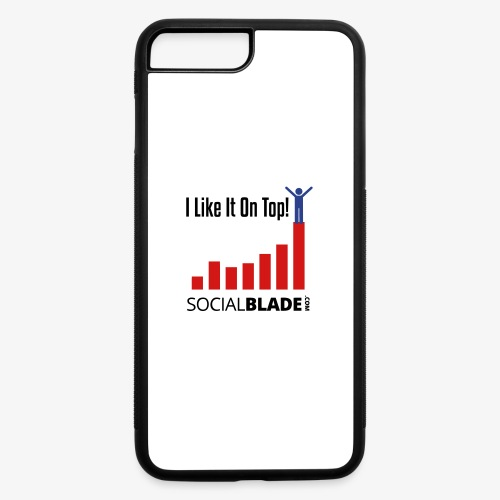I Like It On Top - Guy - iPhone 7 Plus/8 Plus Rubber Case