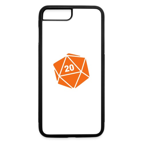 D20 Winter Toque - iPhone 7 Plus/8 Plus Rubber Case