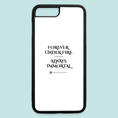Always Immortal (black) - iPhone 7 Plus/8 Plus Rubber Case