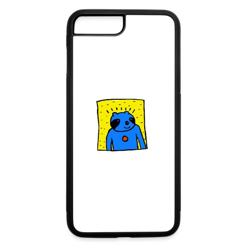 Sloth Portrait Hoodie - iPhone 7 Plus/8 Plus Rubber Case