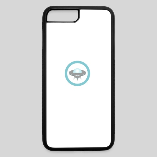 ALIENS WITH WIGS - Small UFO - iPhone 7 Plus/8 Plus Rubber Case