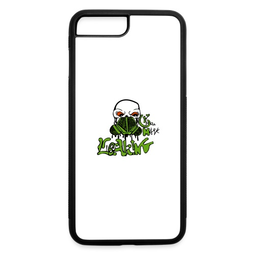 Leaking Gas Mask - iPhone 7 Plus/8 Plus Rubber Case