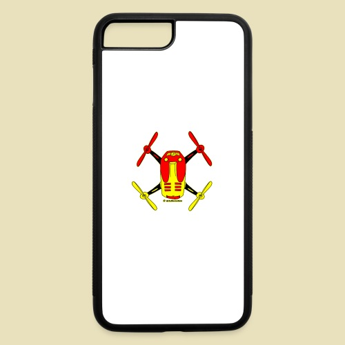GrisDismation Ongher Droning Out Tshirt - iPhone 7 Plus/8 Plus Rubber Case
