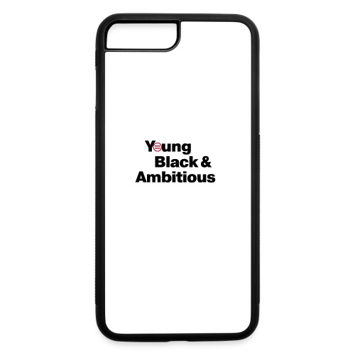 YBA white and gray shirt - iPhone 7 Plus/8 Plus Rubber Case