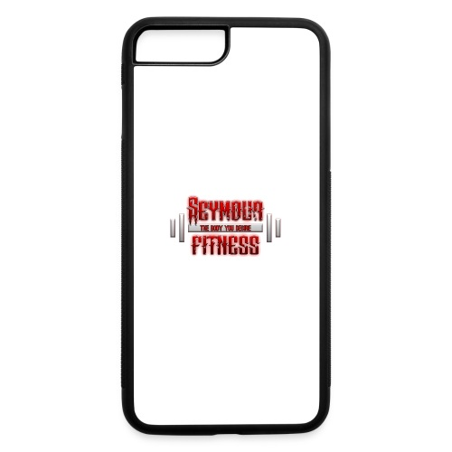seymour_fitness_logo - iPhone 7 Plus/8 Plus Rubber Case
