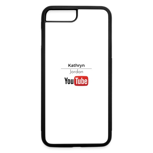 K and J youtube - iPhone 7 Plus/8 Plus Rubber Case