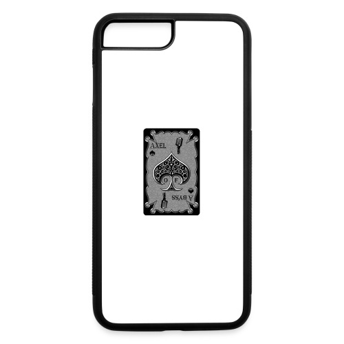 Axelofabyss Spade Card - iPhone 7 Plus/8 Plus Rubber Case