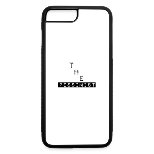 The Pessimist Abstract Design - iPhone 7 Plus/8 Plus Rubber Case