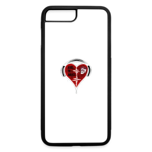 Axelofabyss Music in your heart - iPhone 7 Plus/8 Plus Rubber Case