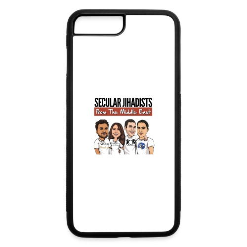 Secular Jihadists from the Middle East - iPhone 7 Plus/8 Plus Rubber Case