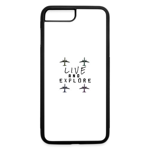 Live and Explore - iPhone 7 Plus/8 Plus Rubber Case