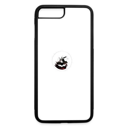 Axelofabyss Red with Nature - iPhone 7 Plus/8 Plus Rubber Case