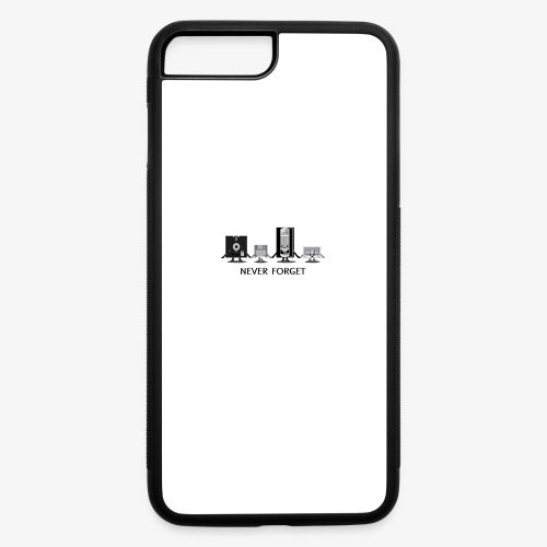 Never forget - iPhone 7 Plus/8 Plus Rubber Case