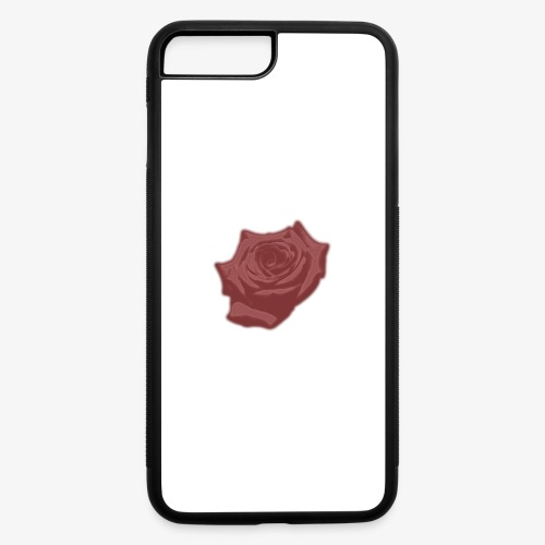 Down Rose Modern - iPhone 7 Plus/8 Plus Rubber Case