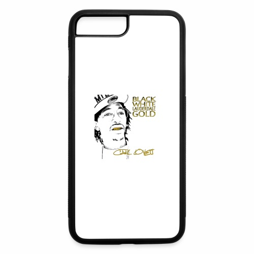 Carl Lovett Lauderdale Gold - iPhone 7 Plus/8 Plus Rubber Case