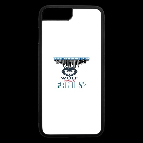 We Are Linked As One Big WolfPack Family - iPhone 7 Plus/8 Plus Rubber Case