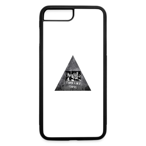 Think Like Chess Logo - iPhone 7 Plus/8 Plus Rubber Case