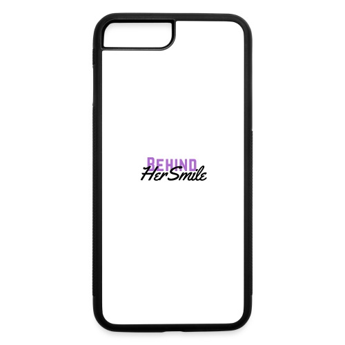Behind Her Smile - iPhone 7 Plus/8 Plus Rubber Case