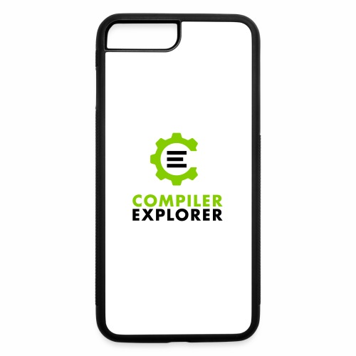 Logo and text - iPhone 7 Plus/8 Plus Rubber Case